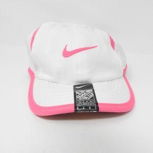 Nike Pink White Infant Dri-Fit Baseball Cap HatNWT